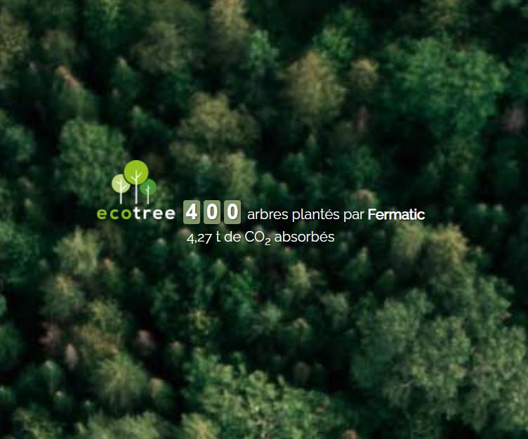 Partenariat Fermatic - Ecotree